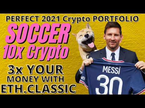 Dogecoin News: SOCCER COULD 5X all Crypto, how to make perfect 2021 PORTFOLIO- Doge  ADA Reddit Pump