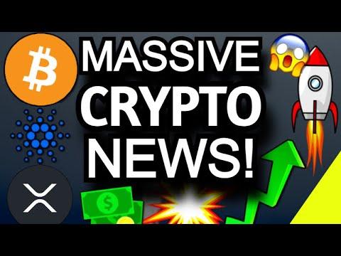 Bitcoin, Cardano ADA, & XRP Pump! Infrastructure Bill Crypto Update & SEC Ripple Settlement