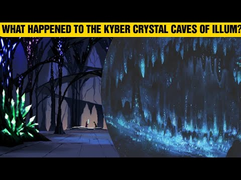 What Happened To The Kyber Crystal Caves Of Illum After Order 66? #Shorts