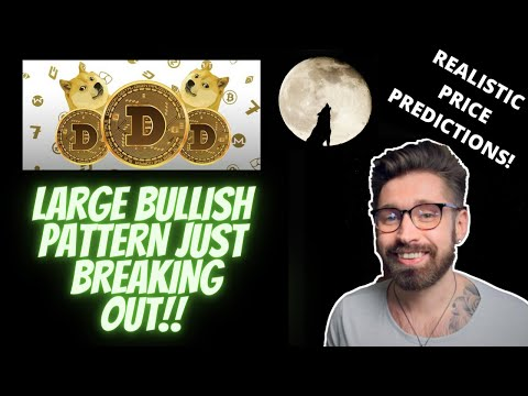 DOGECOIN PRICE PREDICTION!!👑DOGE JUST STARTING TO BREAKOUT OF LARGE BULLISH PATTERN!!👁NEXT TARGETS!