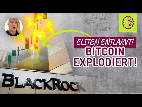 ERWISCHT ! Bitcoin EXPLOSION & BlackRocks dreckiges SPIEL ! Coach Cecil