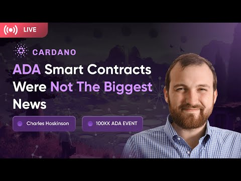 Charles Hoskinson On Why ADA Will Beat Any Other Crypto in 2022. Cardano ADA News. Crypto News.