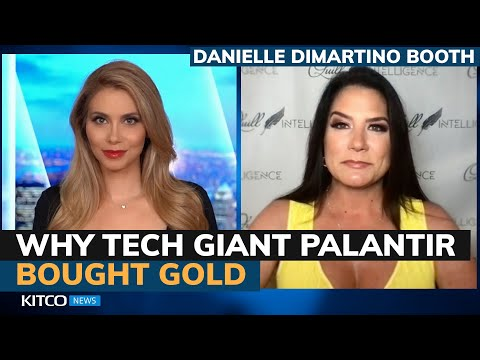 Why Palantir and Tesla are adding gold and Bitcoin to reserves – Danielle DiMartino Booth