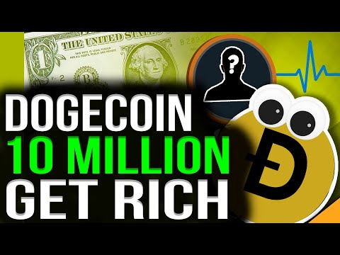 DOGECOIN: 10 MILLION HOLDERS WILL BECOME RICH! 1000 DOGE WILL MAKE YOU A MILLIONAIRE IN 2021
