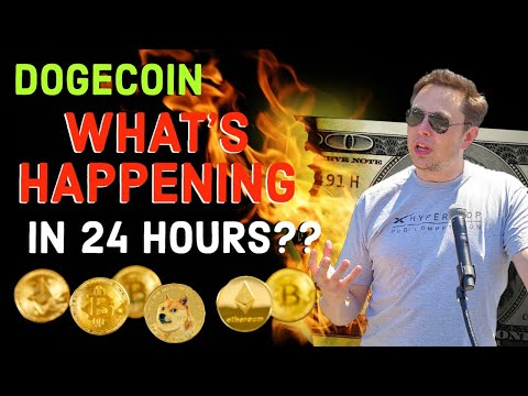 DOGECOIN IT'S GOING TO HAPPEN IN 24 HOURS!! WATCH NOW! LATEST NEWS & PRICE UPDATES.