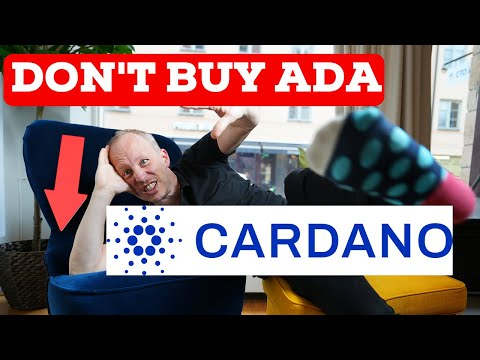 Why I DON'T buy Cardano ADA now (Smart Contracts Sept 12)