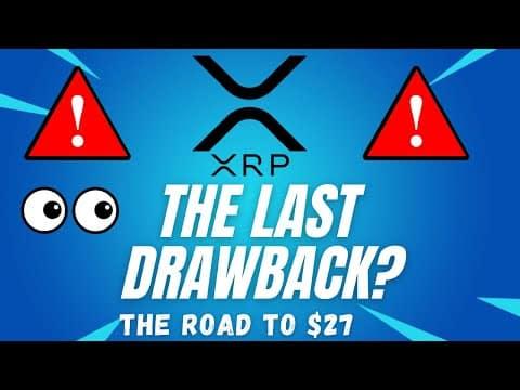 THE LAST DRAWBACK! – RIPPLE XRP PRICE PREDICTION! – RIPPLE XRP 2021 – RIPPLE TECHNICAL ANALYSIS