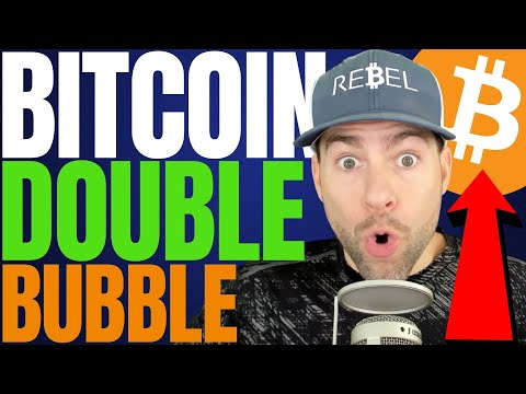 NEW DATA SUGGEST BITCOIN 'DOUBLE BUBBLE' TOP IN 2021 – BTC IS GOING TO $200K!!!!!