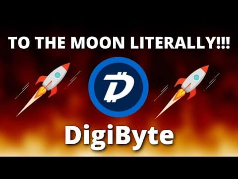 Digibyte TO THE MOON LITERALLY WHY?? – Digibyte DGB Price Prediction