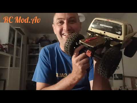 RC Scale , montage amortisseurs en droops …✋??????? huile 40W , Axial.