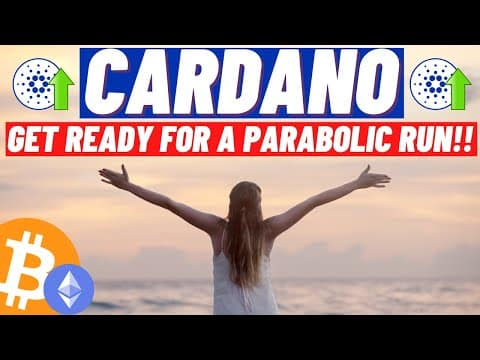 Cardano ADA, Get Ready For A Parabolic Run!! Crypto About To Explode! BTC 4 Year Cycle Theory! BULL!