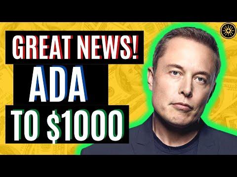CARDANO ADA TO $1000! ADA READY TO BLOW UP | CARDANO ADA NEWS TODAY