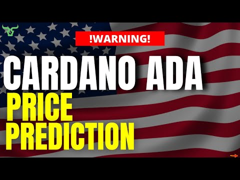 CARDANO ADA BREAKING NEWS! This Price Prediction Changes EVERYTHING