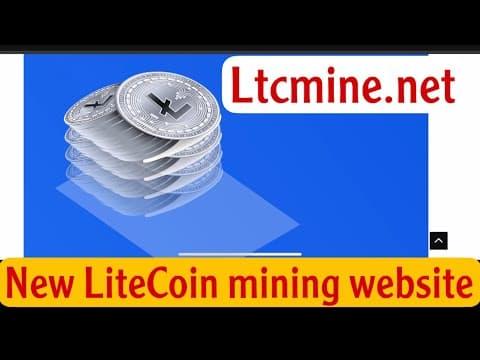 Best Litecoin mining website || ltcmine.net || #litecoin #LTC #bitcoin #crypto #binance #ltcminer