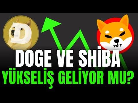 DOGE ve SHIBA HEDEFLER GELİYOR MU ? güncel teknik analiz
