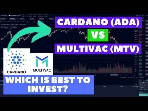Which Token Could Get High ROI? MultiVAC (MTV) vs Cardano (ADA)?   Crypto Price Prediction