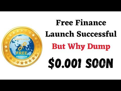 """Why Contiously dropped """"Free Coin"""" ? Pump Posible? ‼️ Must Watch this video"""
