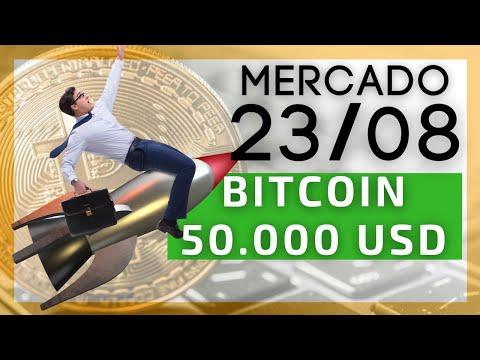 Após 3 meses, enfim Bitcoin nos 50.000 USD!! ADA Topo Histórico!