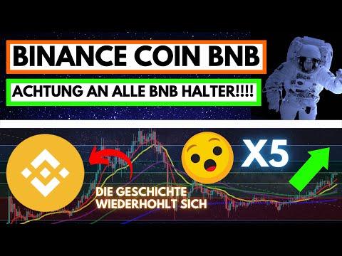 UNTERSCHÄTZT!!! Binance Coin (BNB) Prognose 2000$ (Jetzt kaufen?)