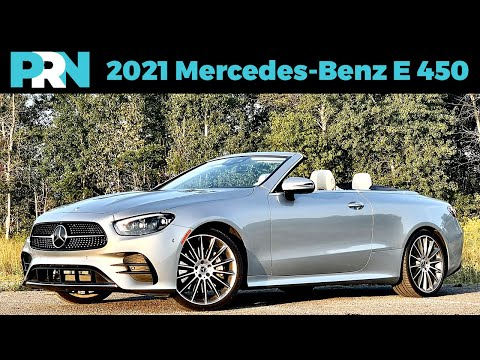 Heat Waves & Cabrios   2021 Mercedes-Benz E 450 4matic Convertible Full Tour & Review