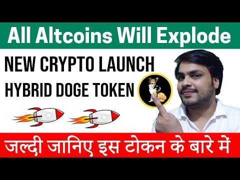 New Altcoin Launch (Hybrid Doge) To Buy Now 2021 | Best Cryptocurrency To Invest 2021 | Top Altcoins