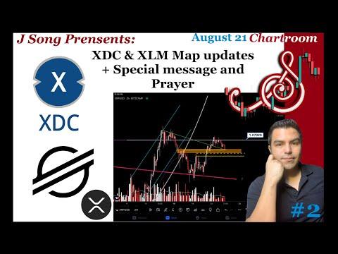 XDC & XLM map Updates +DGB & XRP bonus + Special message and Prayer