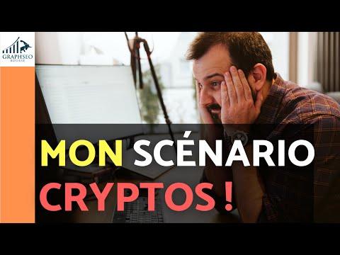 Mon Scénario CRYPTOS : Analyse BITCOIN fr et actions Blockchain (crypto hebdo)