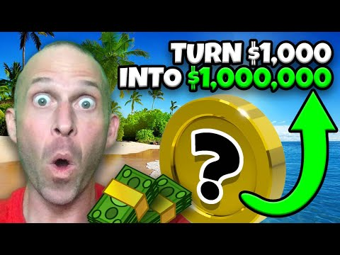TURN $1,000 INTO $1,000,000 IN CRYPTO!!!!!!!! (1000X YOUR MONEY)