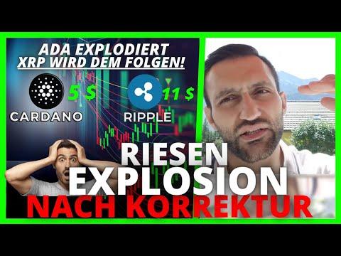 Achtung: Ripple (XRP) EXPLOSION, nach KORREKTUR!