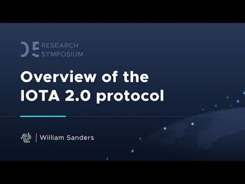 Overview of the IOTA 2.0 Protocol – IOTA Research Symposium 2021