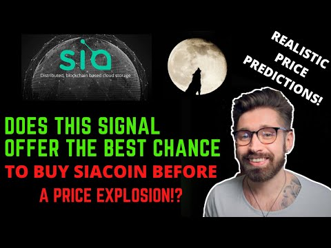SIACOIN PRICE PREDICTION?BULLISH SIGNAL OFFERS BEST CHANCE TO GET INTO SIACOIN BEFORE IT TAKES OFF!?