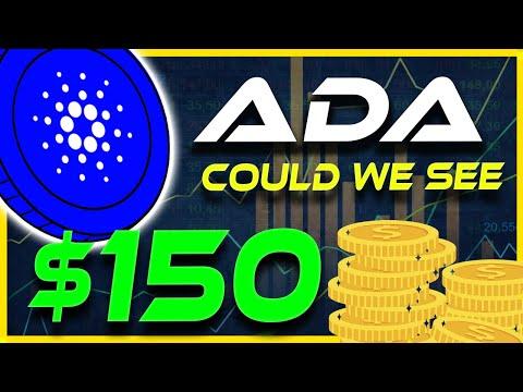 Will ADA Hit $150? Cardano Price Prediction   Cardano News   Crypto News Today