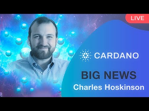 Cardano ADA – Charles Hoskinson : Breaking News , Cardano Pump , Smart Contracts Update