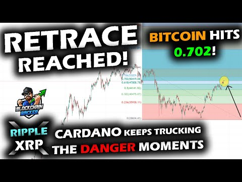 HISTORICALLY DANGEROUS TIME FOR BITCOIN at 0.702 Retrace, Altcoin Market Clears, XRP Price Fighting