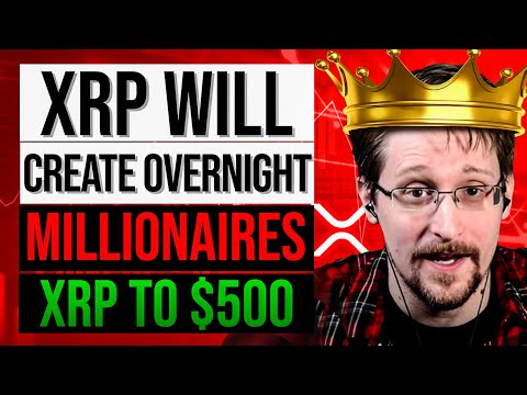 XRP TO $500?! ⚠️EDWARD SNOWDEN JUST SAID: 'YOU NEED TO BUY $1,000 XRP NOW!'⚠️ RIPPLE XRP NEWS TODAY
