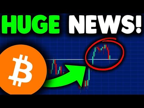 HUGE BITCOIN NEWS TODAY (must watch)!! BITCOIN PRICE PREDICTION AFTER BITCOIN CRASH 2021 [explained]