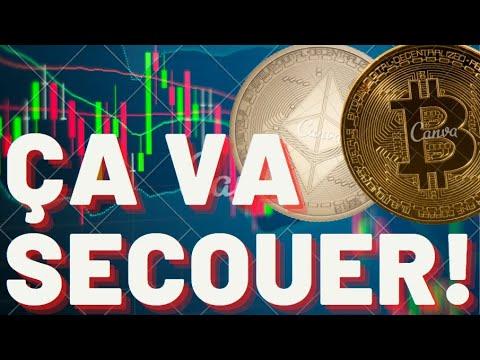 BITCOIN doit tenir CETTE ZONE sinon DANGER ☝️ (important) analyse crypto monnaie bitcoin eth