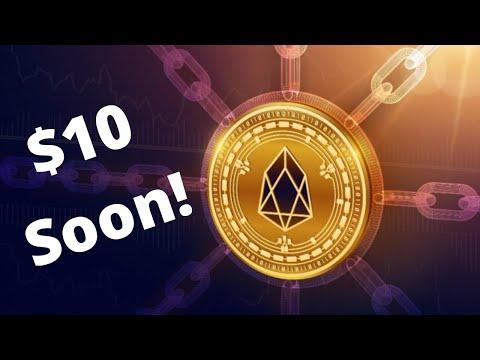 EOS To $10 Soon & PayPal Accepts Crypto! + I FINALLY GOT A NEW CAMERA!