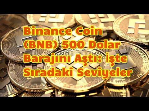 Binance Coin (BNB) 500 Dolar Barajını Aştı: İşte Sıradaki Seviyeler   | Bitcoin Son Dakika