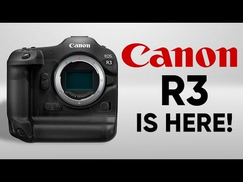 Canon EOS R3 – Almost There!
