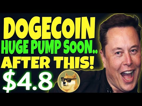 DOGECOIN HUGE PUMP COMING SOON.. AFTER THIS WILL BE $4.8? ? MAJOR DOGECOIN NEWS TODAY