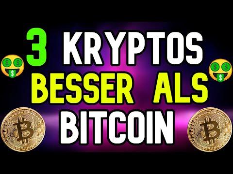 BESSER ALS BITCOIN – 3 KRYPTOWÄHRUNGEN für DIE ZUKUNFT !! – Bitcoin deutsch krypto news