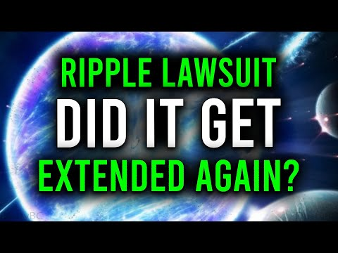 RIPPLE XRP: THE LAWSUIT JUST GOT EXTENDED AGAIN?! HERE'S EXACTLY WHAT'S GOING ON!!!!