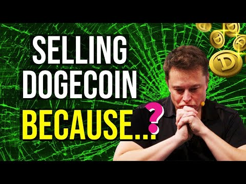 BREAKING NEWS: SELLING DOGECOIN BECAUSE??  Price Updates Now! #dogecoin #ada #bitcoin