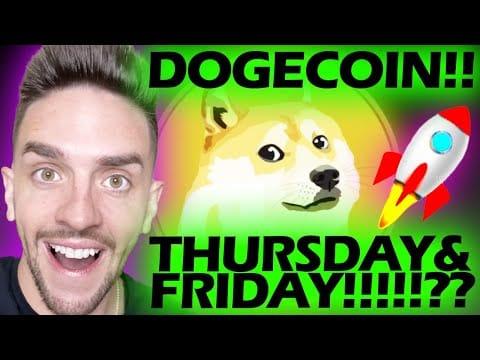 WHY DOGECOIN WILL SOON REACH .40 CENTS!!!!!!!!!!! #DOGECOIN #DOGE