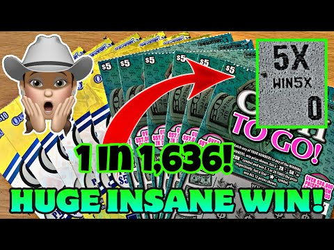 HUGE WIN!! SOMETIMES IT PAYS TO PLAY THE LOTTERY! $90 IN MASS SCRATCH OFF LOTTERY TICKETS