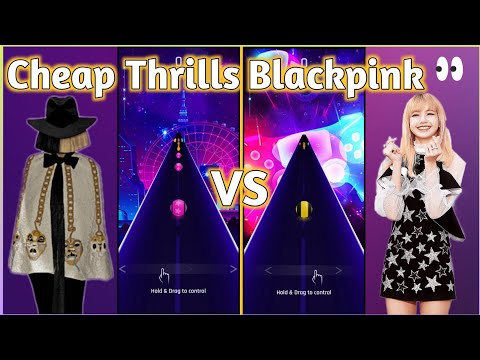 Dancing Road – Sia – Cheap Thrills Song VS Blackpink – How You Like That | V Gamer