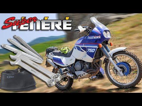 XTZ-750 Super Ténéré idea per Leve e Chiavi Smonta Ruota e Camera d'aria in Off-Road