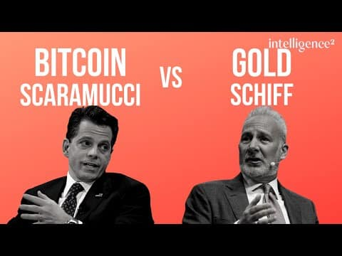Debate: Bitcoin vs Gold with Anthony Scaramucci and Peter Schiff