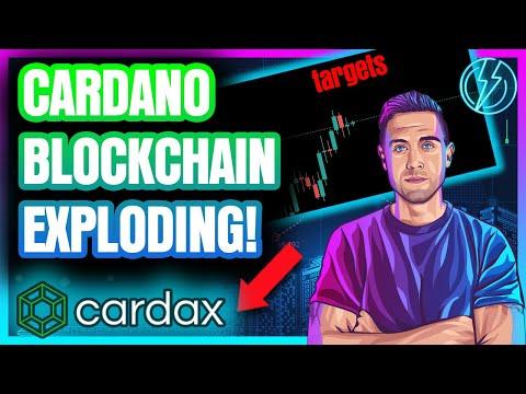 ADA PRICE TARGET Is Set….Cardano Blockchain Is EXPLODING!